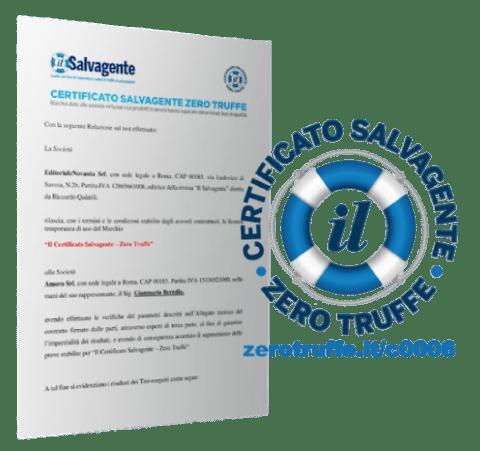 Legge3 - Certificato Il Salvagente